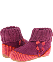 Haflinger Kids - Stripe Flower Booties (Toddler/Youth)