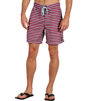 Insight Apparel - Knitta Stripe Mid Boardshort