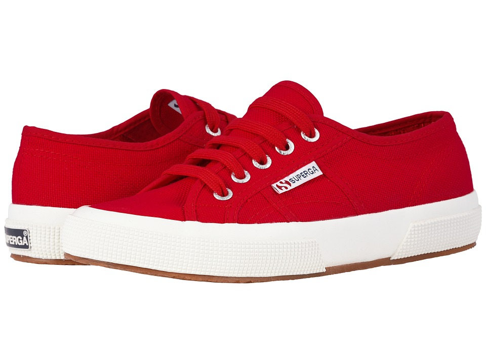 Superga - 2750 COTU Classic (Maroon Red) Lace up casual Shoes