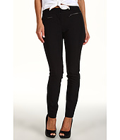DKNYC - Skinny Pant w/ Faux Leather Pkt Trim