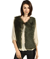 Rachel Roy - Shearling/Knit Vest