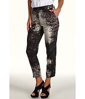 Halston Heritage - Cropped Pant in Monet Cloud Print