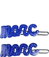 Marc by Marc Jacobs - Marc Script Hair Clips