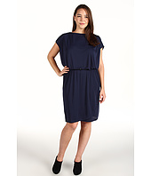 DKNYC - Plus Size Flutter Sleeve Tulip Dress
