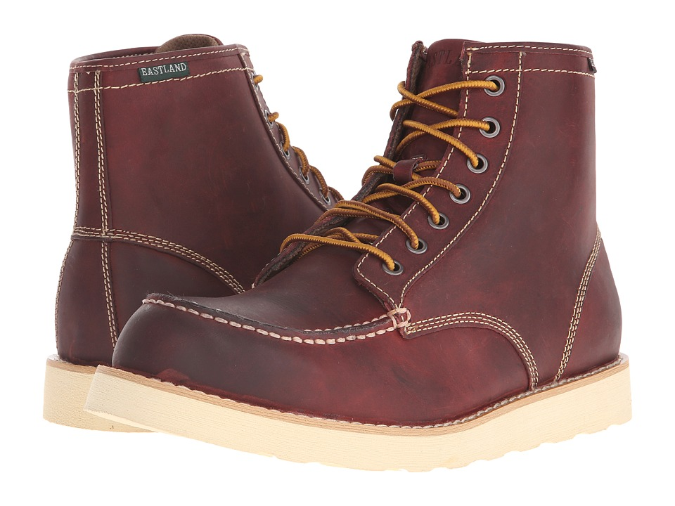 Eastland 1955 Edition - Lumber Up (Oxblood) Mens Lace-up Boots