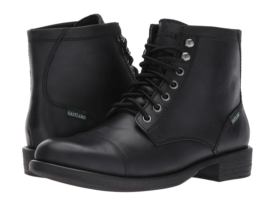 Eastland 1955 Edition - High Fidelity (Black Leather) Mens Lace-up Boots
