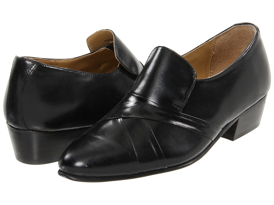 Giorgio Brutini 24461 Black Mens Slip on Dress Shoes