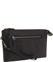 Tumi - Beacon Hill - Double Zip Top Leather Clutch