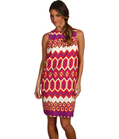 Julie Dillon - Printed Sleeveless Shift Dress
