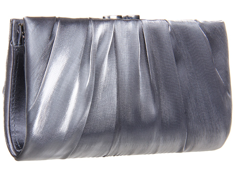 Nina - Larry (Pewter) Clutch Handbags