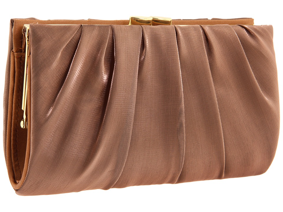 Nina - Larry (Bronze) Clutch Handbags