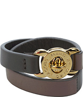 Marc by Marc Jacobs - Leather Katie Double Wrap Bracelet