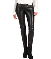 Edun - Perforated Leather Skinny Pant