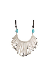 Lucky Brand - Silver Metal Collar Necklace