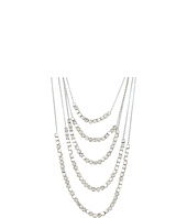 Lucky Brand - Silver Multilayer Necklace