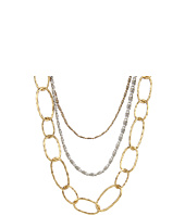 Lucky Brand - Two-Tone Chain Layered Necklace