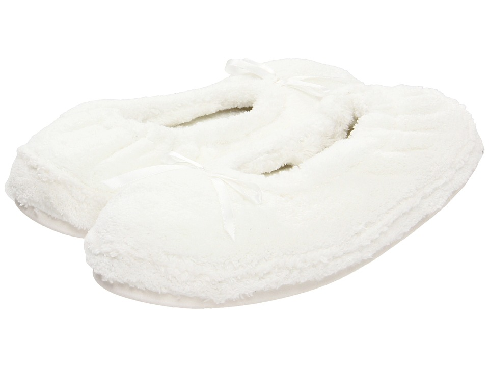 Daniel Green Abigail White Womens Slippers