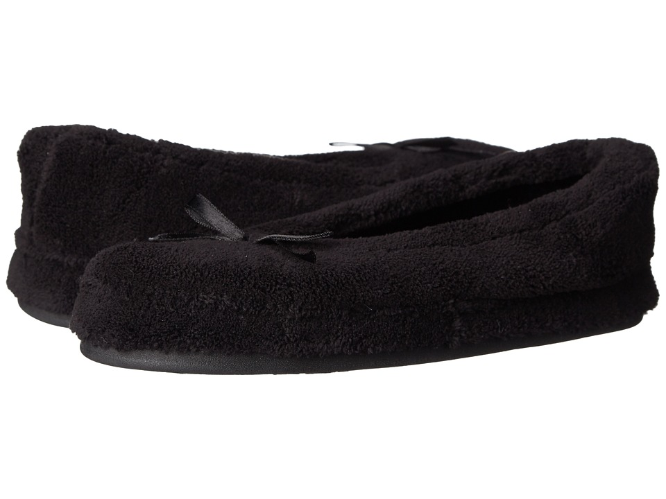Daniel Green Abigail Black Womens Slippers