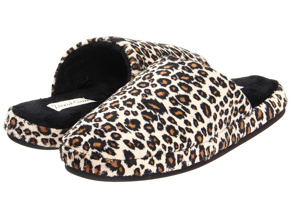 Daniel Green Addie Cheetah Womens Slippers