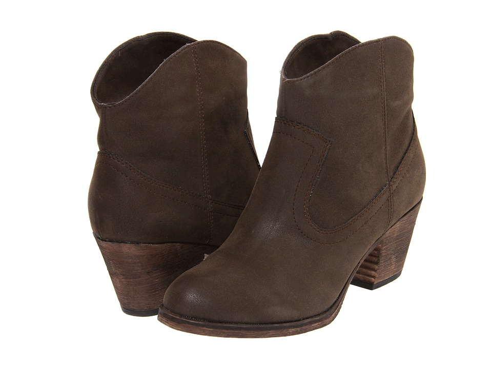 Rocket Dog - Soundoff (Brown Vintage Worn) Womens Pull-on Boots