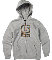 Burton Kids - Boys' Logo Fill Full-Zip Hoodie (Big Kids)