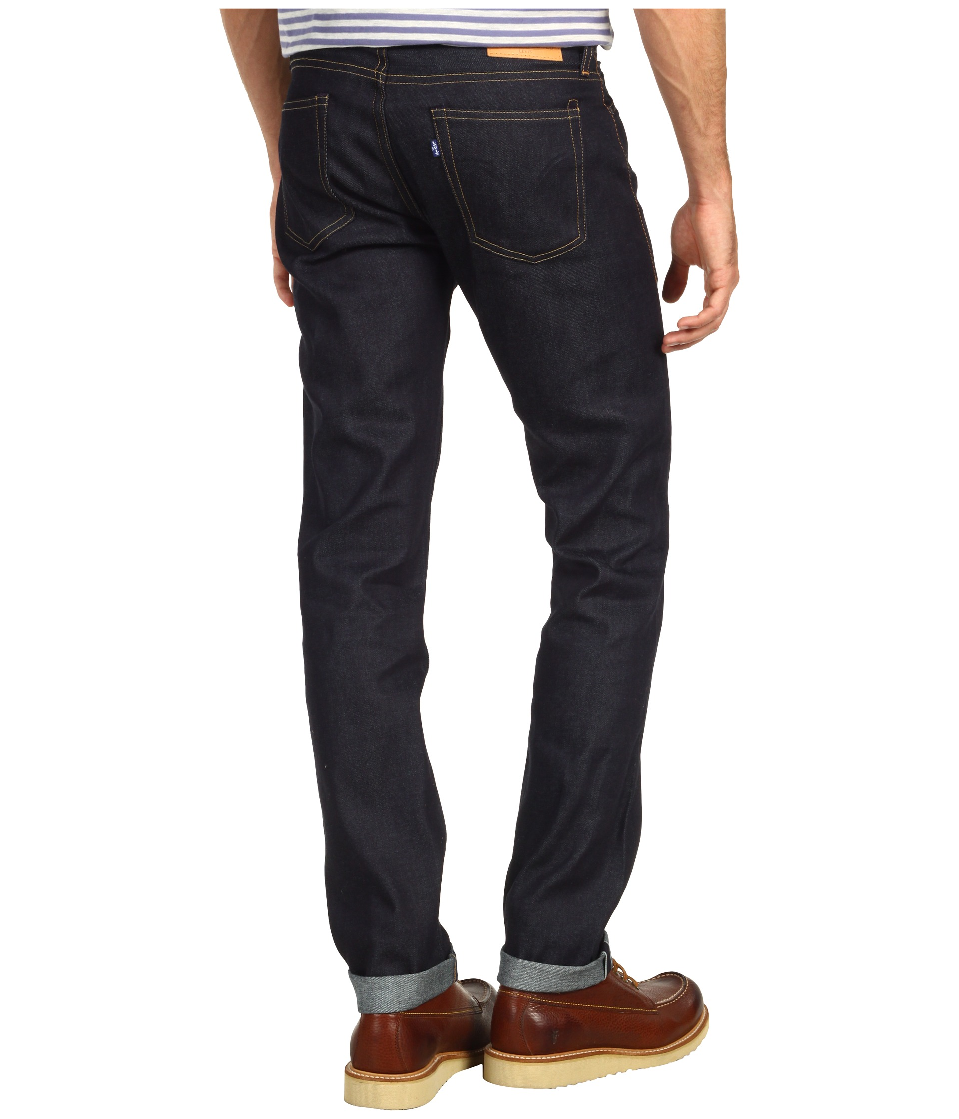 levis made crafted tack in selvedge rigid shipped free