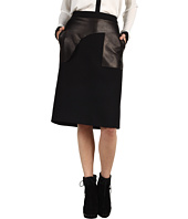 Costume National - Skirt + Leather