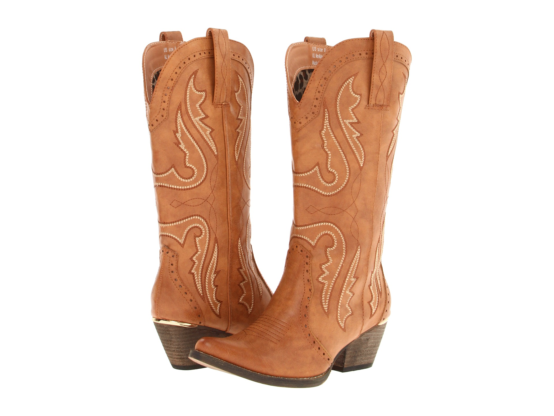 Boots, Cowboy Boots, Tan, Women | Shipped Free at Zappos