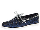 Sperry Top-Sider - A/O 2 Eye (Navy Glitter)