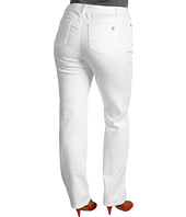 MICHAEL Michael Kors Plus - Plus Size Straight Leg Jean in White