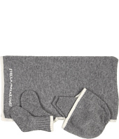 Stella McCartney Kids - Baby 3 Piece Set Cashmere Set Blanket Hat and Socks (Infant)