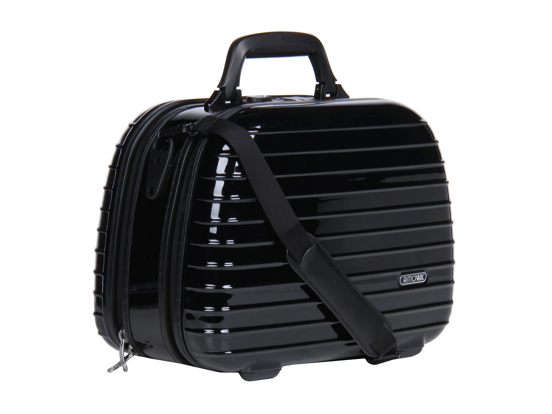 rimowa salsa deluxe beauty case black free shipping both ways. Black Bedroom Furniture Sets. Home Design Ideas