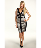 Jax - Colorblock Sequin S/L Dress