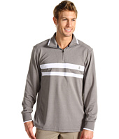 IZOD - Chest Stripe Mock Neck Performance Poly