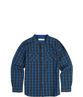 Stella McCartney Kids - Ethan Boys Check Button Up Shirt (Toddler/Little Kids/Big Kids)