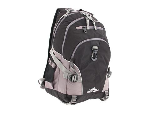 High Sierra Loop Backpack - Black/Charcoal