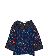 Stella McCartney Kids - Larissa Girls Leaf Print Blouse (Toddler/Little Kids/Big Kids)
