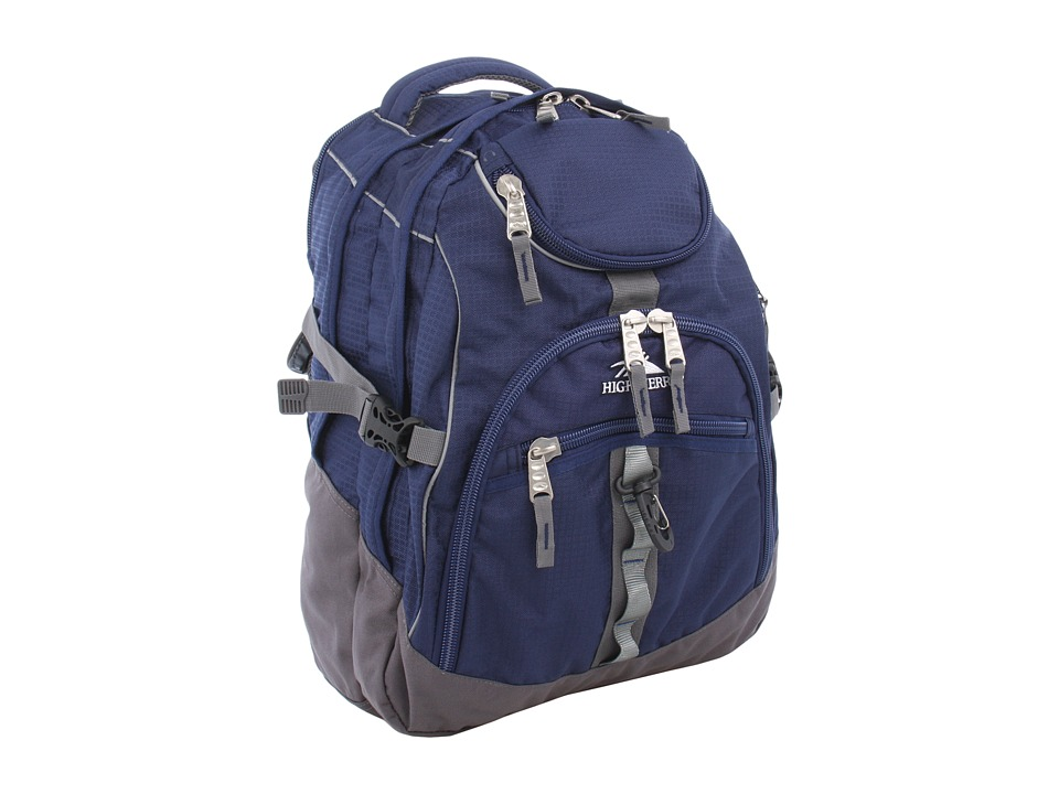 High Sierra Access Backpack True Navy/Charcoal Backpack Bags