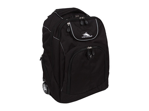 High Sierra Powerglide Wheeled Backpack - Black