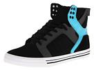 Supra - Skytop (Black/Grey/Turquoise) - Footwear
