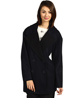 Tibi - Cashmere Outerwear Dropped Shoulder Coat