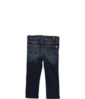 7 For All Mankind Kids - Girls' Roxanne Skinny Jean in Nouveau New York Dark (Toddler)