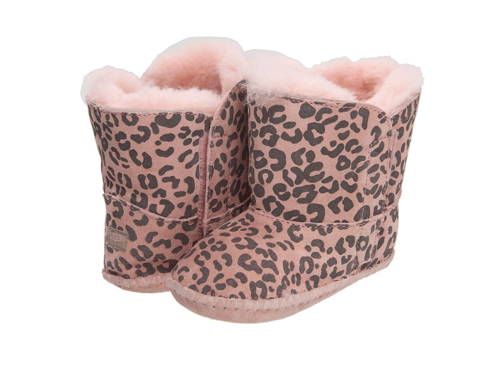 UGG Kids Cassie Leopard (Infant/Toddler) (Baby Pink Leopard) Girls Shoes