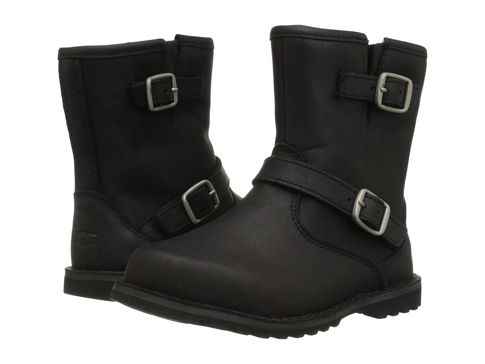 UGG Kids Harwell Toddler/Little Kid Black Kids Shoes