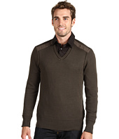 John Varvatos - L/S V-Neck Sweater
