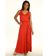 Three Dots - V-Neck Maxi Dress
