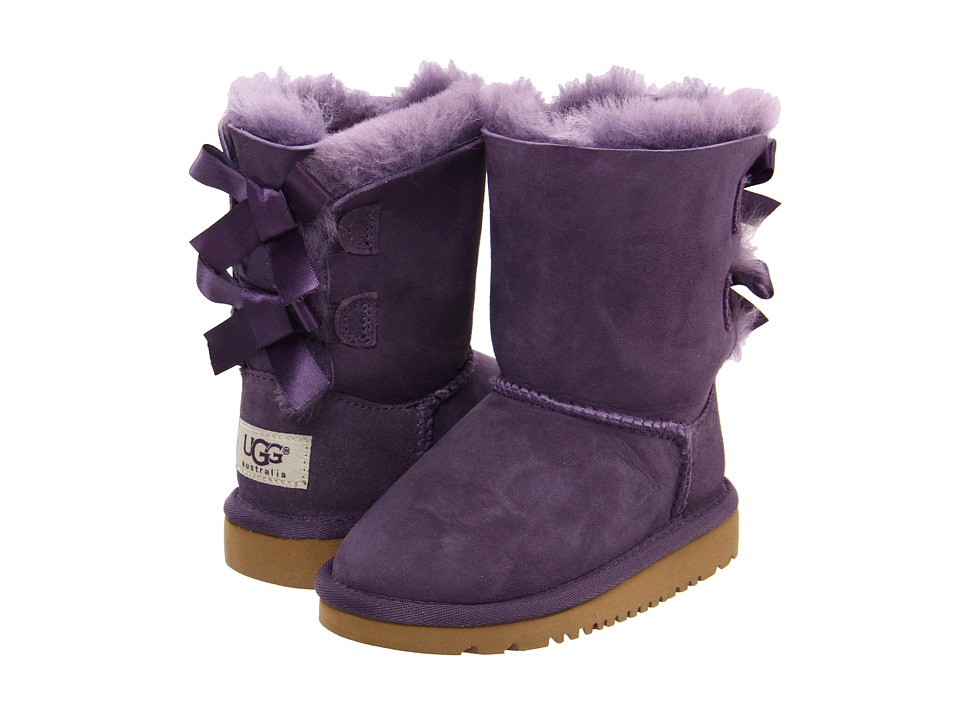 UGG Kids Bailey Bow Toddler/Little Kid Petunia Girls Shoes