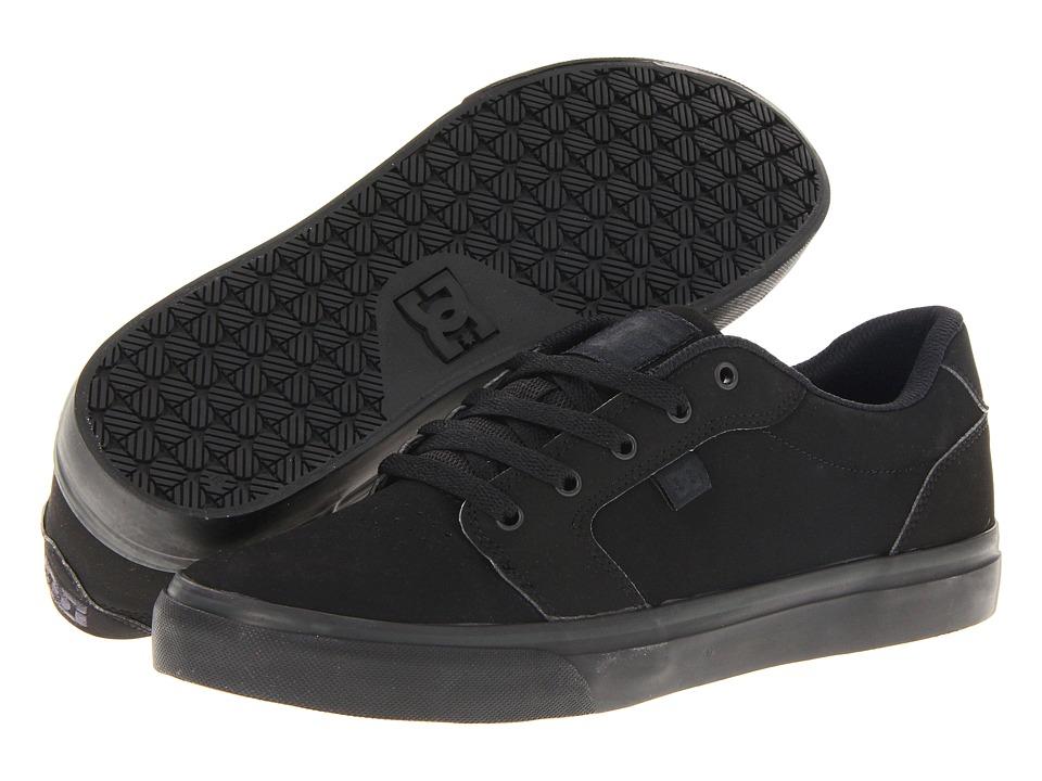 DC Anvil Black/Black Mens Skate Shoes