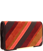 BCBGMAXAZRIA - Autumn Stripe Suede Clutch