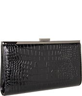 BCBGMAXAZRIA - Ingrid Croc Embossed Oversized Clutch